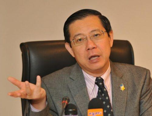 Kenyataan Akhbar Ketua Menteri Pulau Pinang Lim Guan Eng Di Kuala Lumpur Pada 13.8.2017.