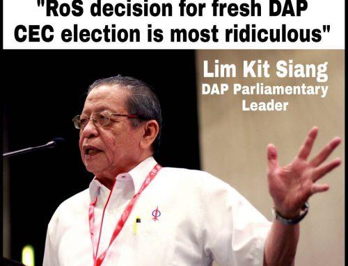 RoS decision for fresh DAP CEC election as DAP CEC election in 2012 and re-election in 2013 not lawful and valid most ridiculous